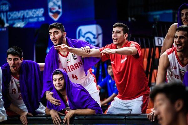 اولین پیروزی بسکتبالیستهای جوان در قهرمانی آسیا