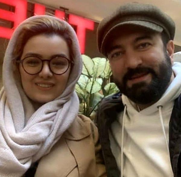 همسر جوان مجید صالحی + عکس