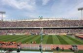 کارگران مجموعه ورزشی آزادی تجمع کردند