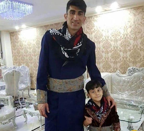 علیرضا بیرانوند و پسرش + عکس