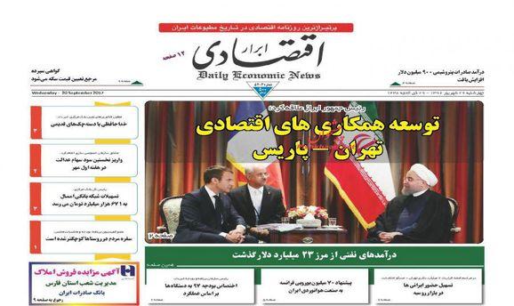 تجارت یک طرفه فرانسه به عنوان پلیس بد برجام با ایران
