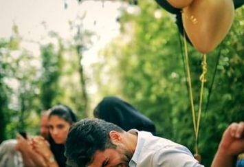 تولد شیک علی ضیا در کافه+عکس