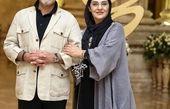 رویا نونهالی و همسرش+عکس