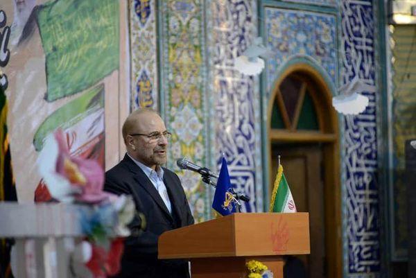 سخنرانی قالیباف در مسجد جامع اصفهانک + عکس