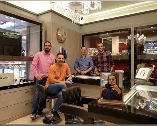پیمان معادی در فروشگاه دوستش + عکس