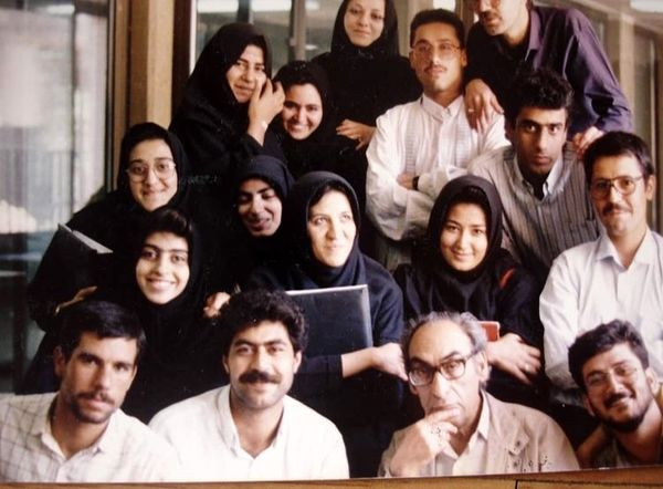 فاطمه هاشمی در دوران دانشجویی + عکس