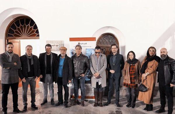 جمعی از هنرمندان معروف در باغ فردوس + عکس