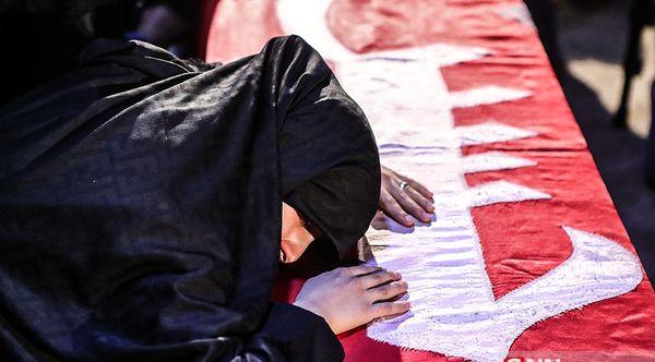 دلنوشته همسر شهید رضایینژاد برای خانواده شهید محسن جعفری