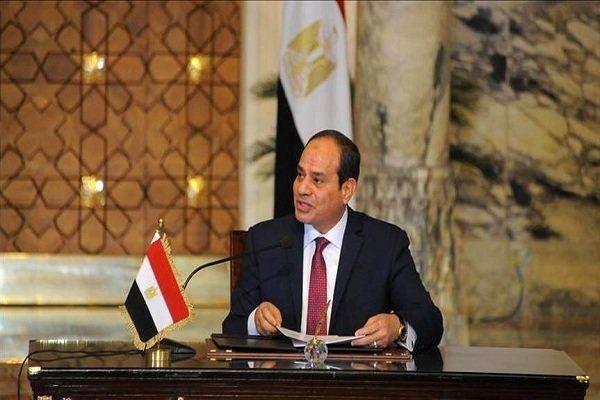 دیدار رئیسجمهوری مصر با وزیر دفاع فرانسه در قاهره