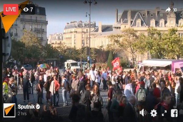 تظاهرات اعتراضآمیز گسترده علیه سیاستهای دولت فرانسه
