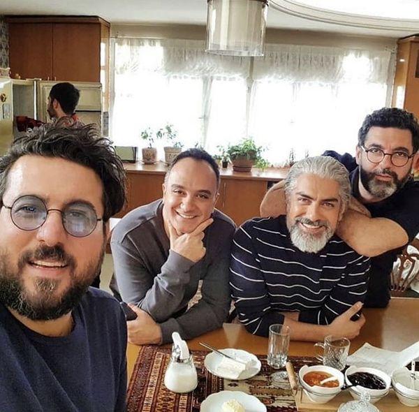 همگناهی ها سر میز صبحانه + عکس