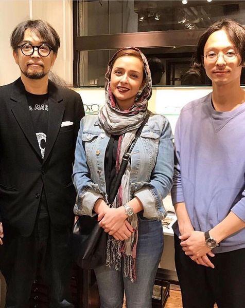 پوشش «ترانه علیدوستی» در توکیو +عکس