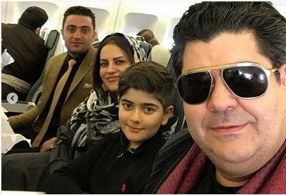 خانواده «سالار عقیلی» در راه کنسرت کردستان/عکس