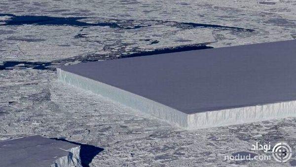کشف کوه یخ اعجاب انگیز در قطب جنوب توسط ناسا !