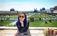 عکس زیبای نازنین بیاتی در اصفهان