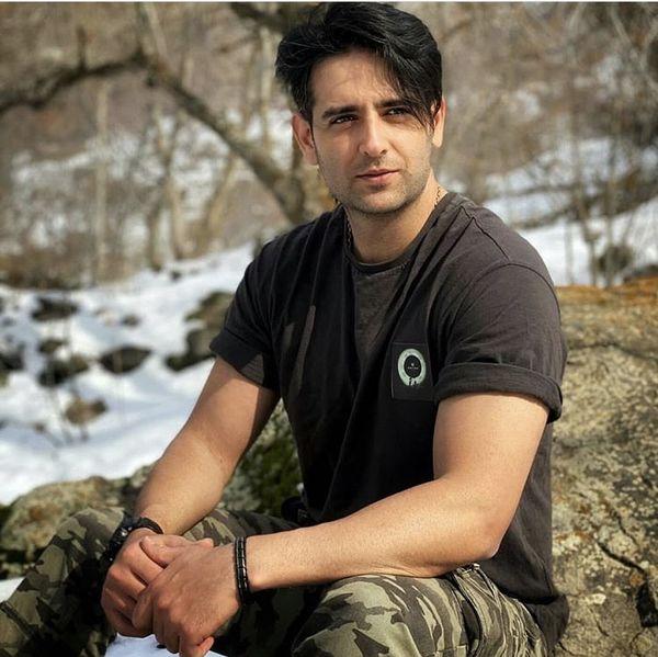 شلوار ارتشی امیرحسین آرمان + عکس