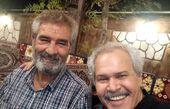 دوستی مختار سائقی با جعفر دهقان + عکس