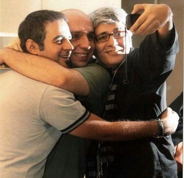 سلفی دوستانه امیر غفارمنش + عکس