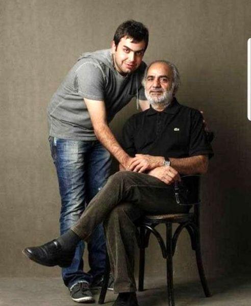 پرویز پرستویی و پسر اسپورتش+عکس