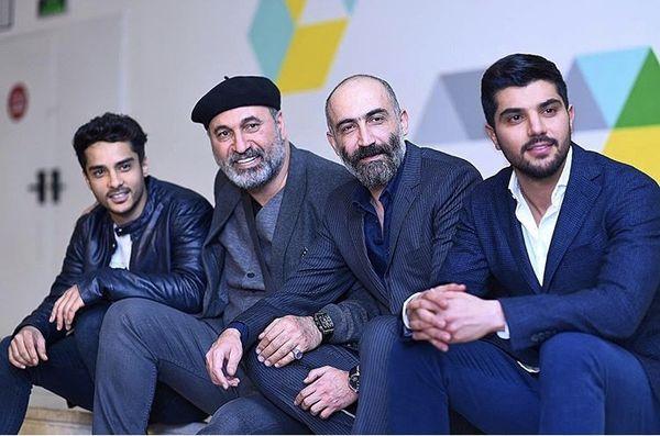 برادران سهیلی در کنار هادی حجازی فر و حمید فرخ نژاد + عکس