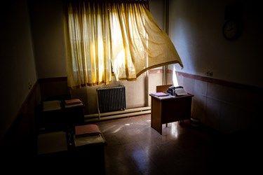 کلاس درس نابینایان در مدرسه شهید محبی تهران