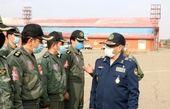 بازدید امیر سرتیپ نصیرزاده از پایگاه هوایی تبریز