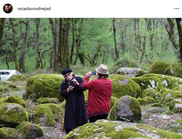 رضا داوود نژاد و خانواده دوربین دوستش