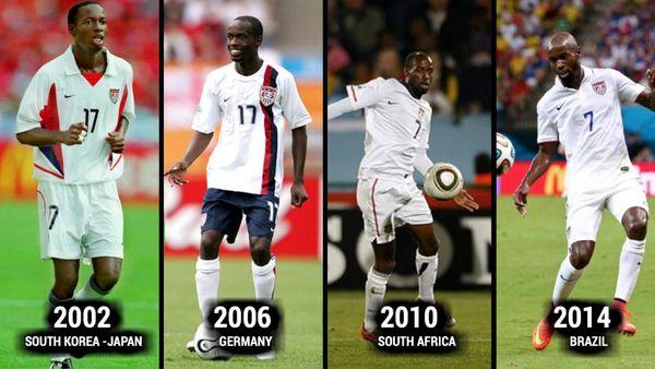 تغییر چهره فوتبالیست های سرشناس دنیا در تاریخ جام جهانی