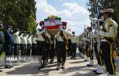 استقبال از پیکر شهید راه امنیت در شیراز
