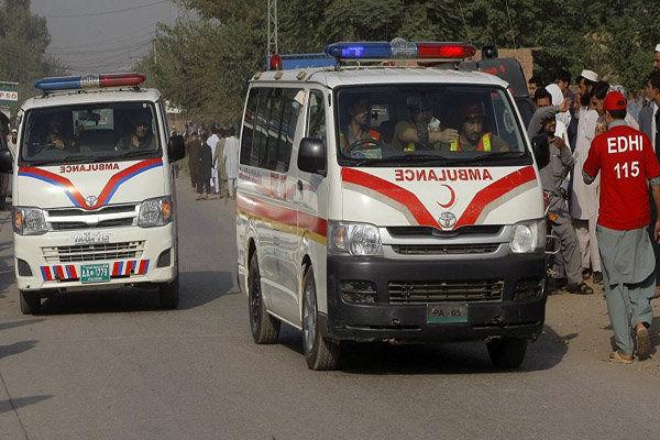 انفجار انتحاری در پاکستان