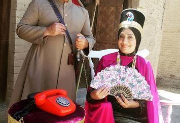 عکس سلطنتی ساناز سماواتی و حسین رفیعی