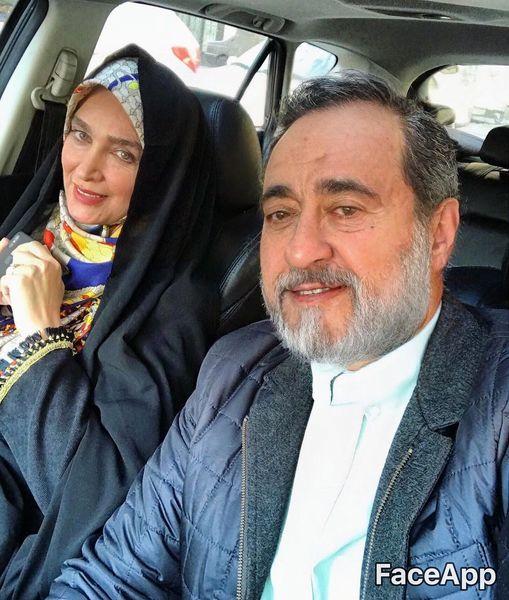 پسر و عروس سفیر در سالهای آخر+عکس