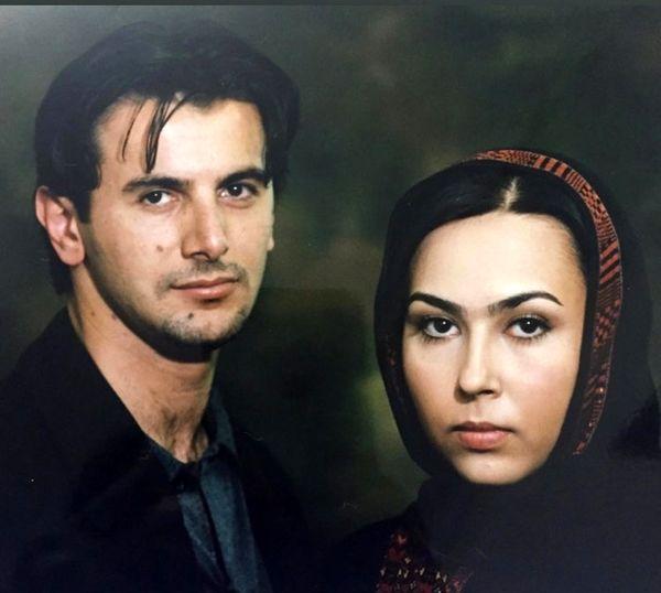 امین حیایی وپرستو صالحی در ۲۰سال پیش + عکس
