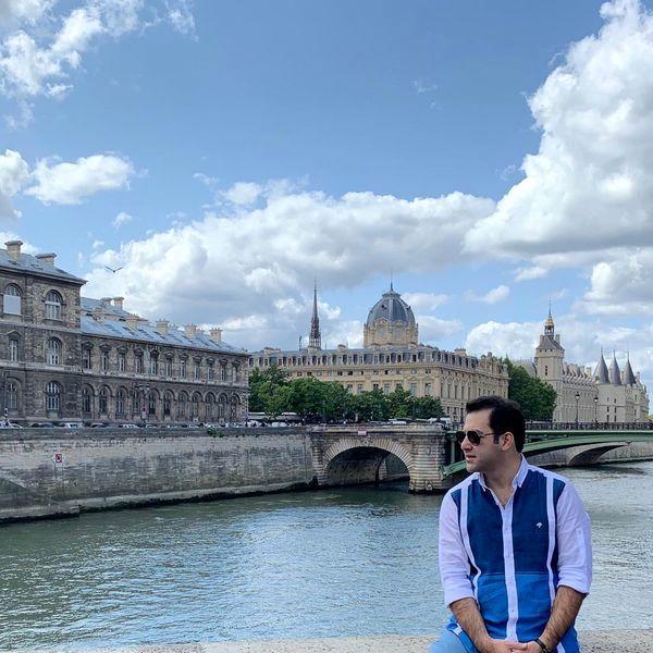 مجری مشهور در خارج از کشور + عکس