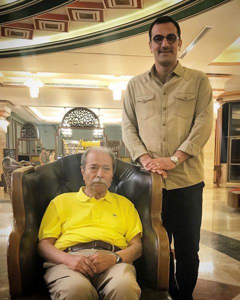 آقای بازیگر ملازم آقای سلطان بازیگری+عکس