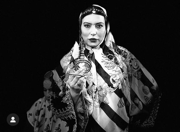 فریبا نادری با لباس سنتی + عکس