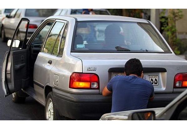 برخورد شدید با مخدوش کردن پلاک خودرو