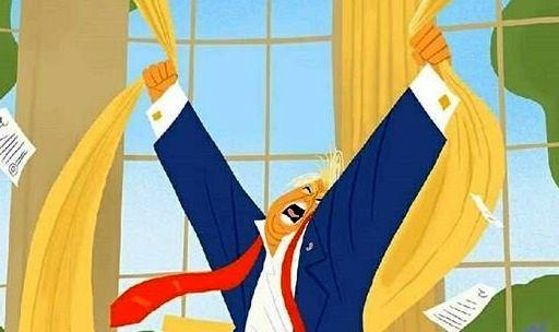 آخرین واکنش ترامپ/ کاریکاتور