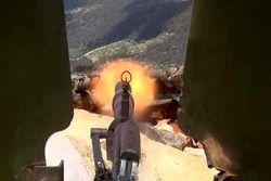 سرنگونی هواپیمای جاسوسی تروریستها در حومه حماه