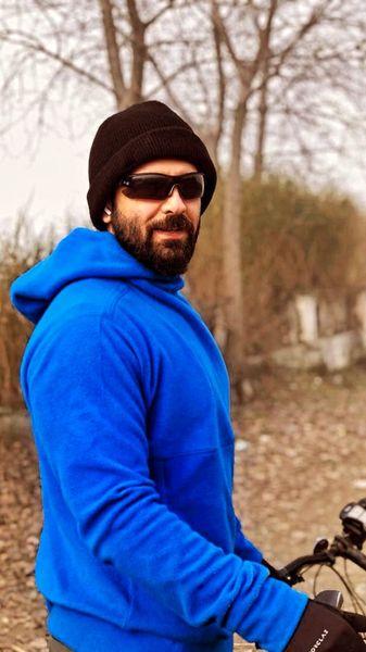 استایل دوچرخه سواری امیرحسین آرمان + عکس