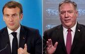 ایران، عراق و افغانستان محور رایزنی پامپئو و ماکرون