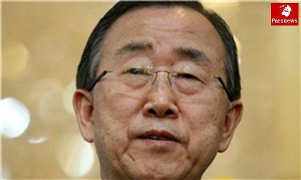 بانکیمون: سازمان ملل درباره استفاده از سلاح شیمیایی در سوریه تحقیق میکند