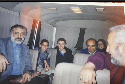 بازیگران سرشناس سینما ۱۹ سال پیش سوار بر مینیبوس/عکس