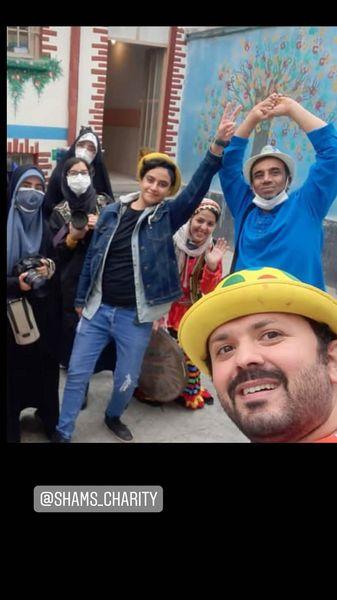 نصرالله رادش در جمع عکاسان + عکس