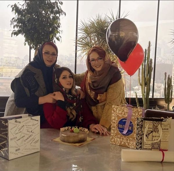 بهاره رهنما و مریم امیر جلالی در یک تولد + عکس