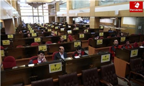 معامله ۹۷۰۰ میلیارد ریال انواع کالا در بورس
