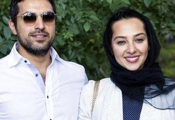 سلفی ماشینی زوج مشهور بازیگر /عکس
