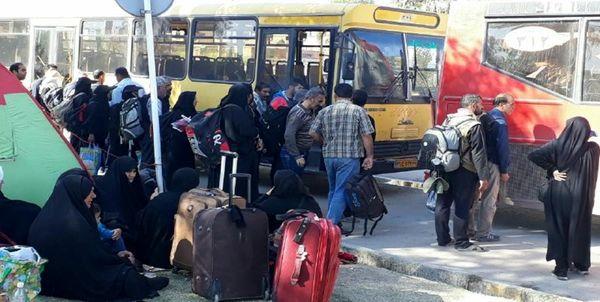 ورود ۳۳۰ هزار نفر به کشور در ۲۴ ساعت گذشته از مرز مهران