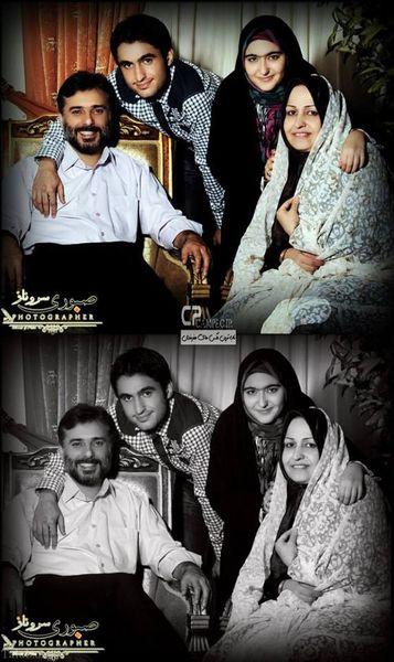 مرد همیشه مثبت فیلم ها در جمع خانواده خوبش