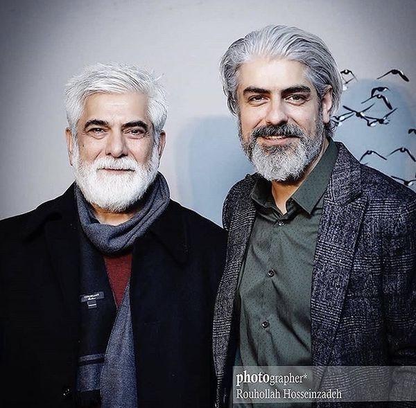 مهدی پاکدل در کنار برادر خوش استایلش + عکس